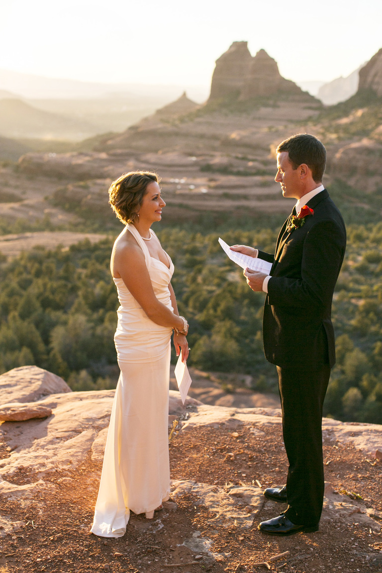 Merry Go Round Rock wedding ceremony