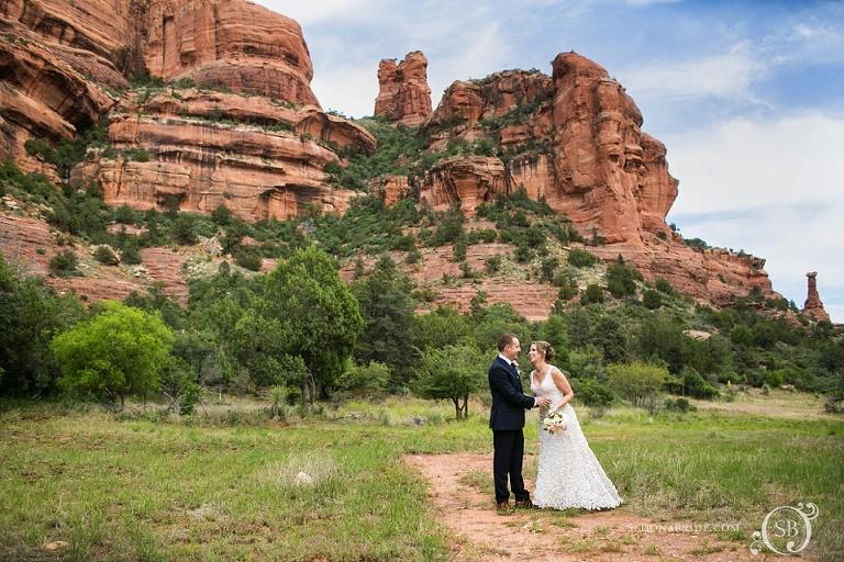 wedding at Enchantment Resort