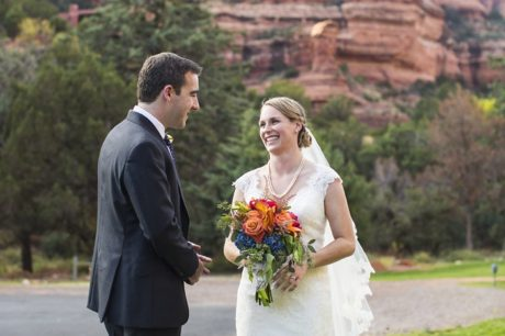Enchantment Resort Sedona wedding photo