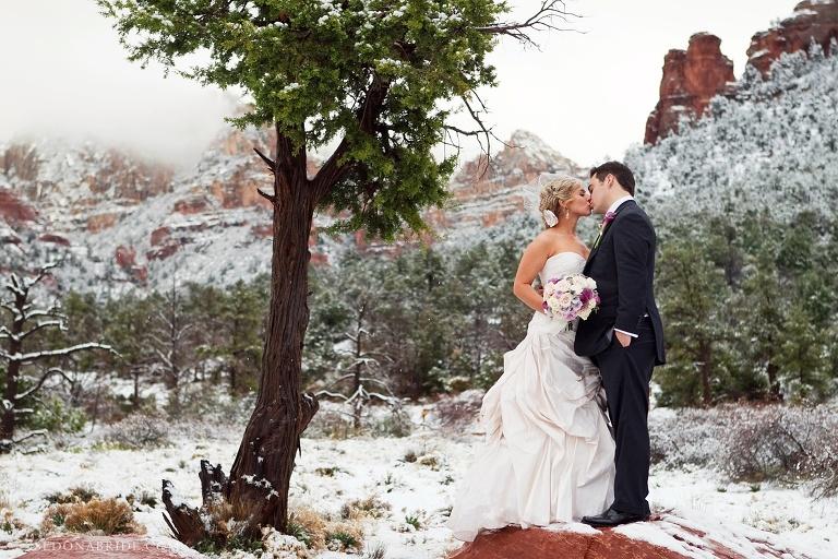 Sedona Arizona Winter Wedding Photographer 2017 - Arizona Wedding Photography