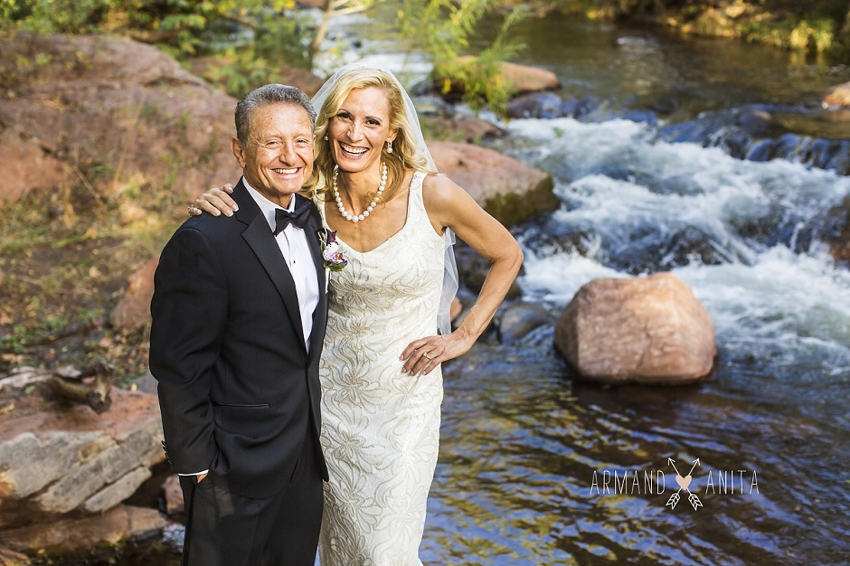 Sedona chapel wedding ~ Anita and Armand