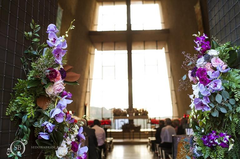Sedona Chapel Wedding at the Chapel of the Holy Cross Anita and Arma