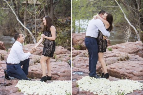 surprise proposal in Sedona