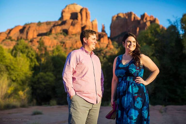 Sedona Engagement Session at Red Rock Crossing