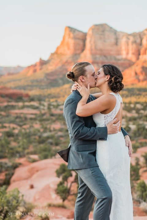 Bell Rock Sedona Wedding Elopement Photo