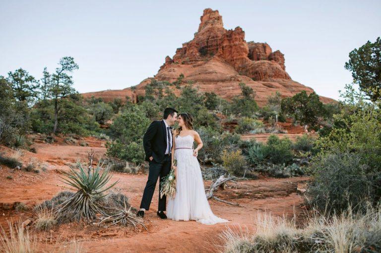 Sedona elopement location Bell Rock